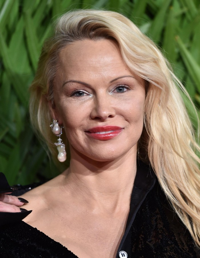 Pamela Anderson had many plastic surgeries